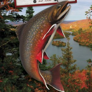 painting brook trout by Jarrod Erdody